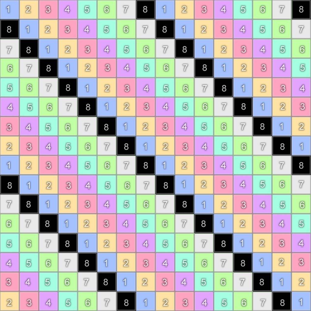 online number grid